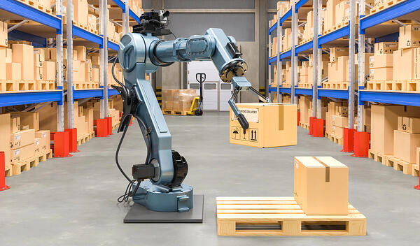 robots in logistics